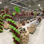 décoration ballon magasin foire aux vins grappes de raisin en ballons tarbes pau Toulouse dax auch Bayonne 65 64 32 40 31