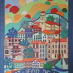 Saint-Jean-de Luz - 70x100 - acrylique - indisponible