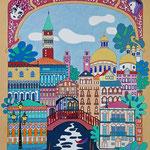 Venise - 70x100 - acrylique - indisponible