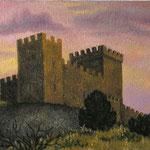 Генуэзская крепость в г. Судак, х.м., 37Х42 см., 2003