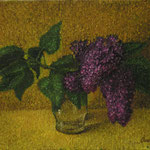 Сирень, х.м., 30,5Х38,5 см., 2002