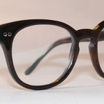 Büffelhornbrille mit Nietscharnier