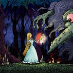 「トロルの姫君」童話:太陽の東 月の西より