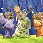 「三人の魔女」童話:太陽の東 月の西より