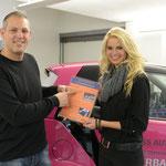 Beat Schlegel  von Fun Boost Fredy Barth mit Miss Auto Zürich 13 / Nathalie Fischer