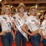Miss Auto Zurich 2014 ist Sandra Meier, 2. Platz Angelina Cuviello, 3. Platz Tea Prgomet, Miss Fotogen - Tipanun Pengtab