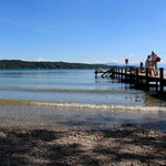 Starnberger See Blick zum Süd-Ost Ufer