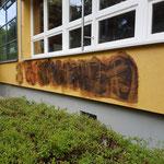 Fassade mit permanenten Graffitischutzsystem