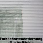Graffitientfernung Kunststoffjalousien