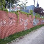 Graffitenfernung