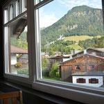 Ferienhaus Sehrwind – Aussicht auf die Nebelhornbahn, Dachgeschoß