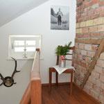 Ferienhaus Sehrwind – Treppenaufgang – Dachgeschoß