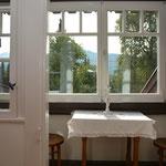 Ferienhaus Sehrwind – verglaster Balkon