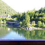 Hotel Pineta Blick vom Balkon