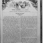 """Anton Kerner: """"Die Blume des Maitranks"""" erschienen 1867 in """"Die Gartenlaube"""", Heft 16, S. 245-247.."""