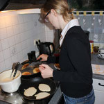 Meine liebe Frau macht leckere Pancakes!