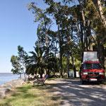 Colonia: Unser 1. Übernachtungsplatz in Uruguay