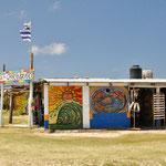 Cabo Polonia: Einer der wenigen Verkaufsstände, die geöffnet haten