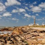 Cabo Polonia: Am Fusse des Leuchtturms...