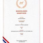 Champion von Niederlande