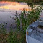August: Ein Abend am See