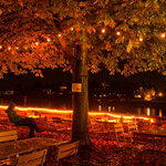 Oktober: Herbstabend