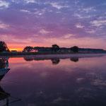 Juli: An der Elbe bei Strehla