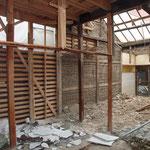 木造全面リノベーション 解体