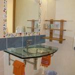 le chalet d'Athaline, salle d'eau Dryade
