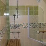 le chalet d'Athaline, salle d'eau Dryade version handicap