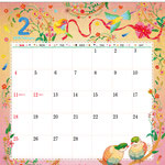 TOYOTAカレンダー2018 2月