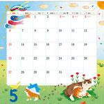 TOYOTAカレンダー2018 5月