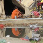 Inde, Pélerinage 2013 de la Kumbh Mela, un village construit dans le lit du Gange émergera pour 6 semaines,