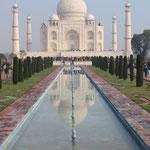 Inde, Reflet du Taj Mahal