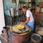 Inde, fabricant de pâte fraiche