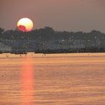 Inde, Bord du Gange, à Allahabad