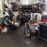 Motorrad Fahrer sind im Motodrom auch gerne gesehen