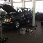 Mercedes Auspuffanlage Eigenbau
