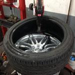 Reifen montieren im Motodrom bis 19 Zoll