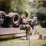 Milchtankwagen Unfall in Grohdorf