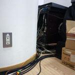音響ブースの電源は当然使用しないのだ!!!