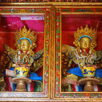 Tara statues in the beautiful Tara Temple