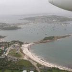 Scilly Islands von oben