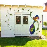 """Et devient """"Douceur au fond du jardin"""", un matin de septembre, 2012..."""
