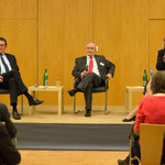 Bischof Prof. Dr. Martin Hein,Prof. Dr. Heinz-Walter Große und Petra Nagel