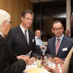 Wolfgang Osse und Günther Paul von der Kasseler Bank eG