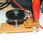 Hallsensor TLE4905 Testaufbau