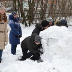 Лепим снежную фигуру