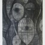 森爺  charcoal, conte on paper 29.7 × 21.0 cm