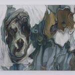 Surface #6 2004 oil on canvas 45.5 × 53.0 cm